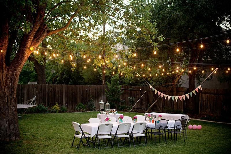 Đừng bỏ qua những ý tưởng này nếu bạn muốn có buổi tiệc sinh nhật ngoài trời thật độc đáo