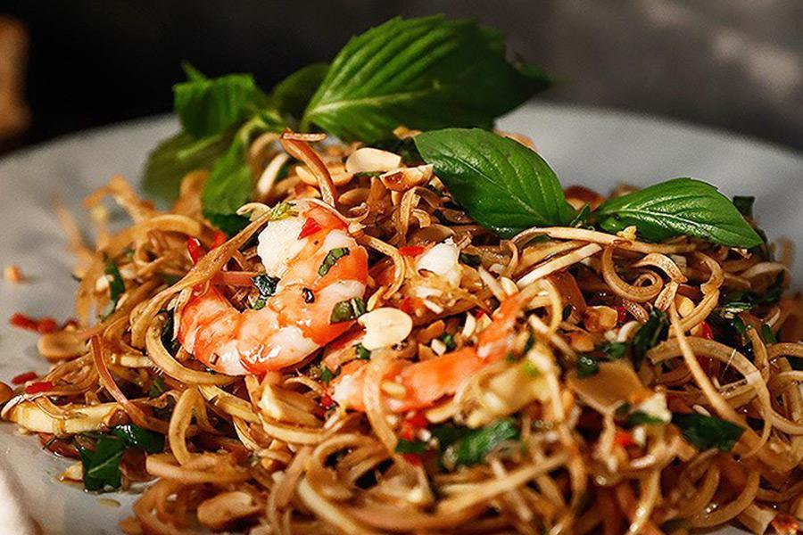 Thực đơn nấu tiệc báo hỷ thật ngon với các món ăn độc đáo từ hoa chuối