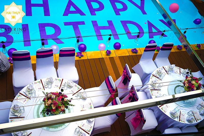 Đặt tiệc sinh nhật tại quận Gò Vấp thật vui - ngon - bổ - rẻ cùng Hai Thụy Catering